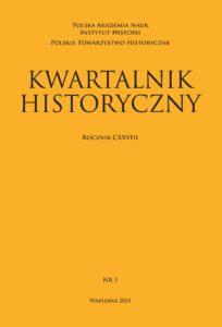 """Odpowiedzi na ankietę """"Kwartalnika Historycznego"""" (z. 1, 2021)"""